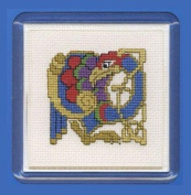 Textile Heritage Coaster Kit - Celtic Bird