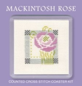 Textile Heritage Coaster Kit - Macintosh Rose
