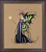 Mirabilia August Peridot Fairy Counted Cross Stitch Pattern