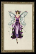 Violet, Cross Stitch from Nora Corbett