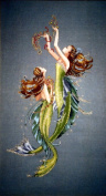 Mirabilia Mermaids of the Deep Blue Cross Stitch Pattern