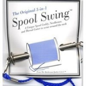 3 in 1 Spool Swing Spool Caddy Needlecase Thread Cutter
