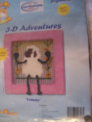 Lammy 3-D Adventures Needlepoint Kit