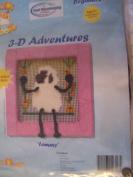 Lammy 3-D Adventures Needlepoint Kit