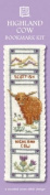 Highland Cow Bookmark Cross Stitch Kit