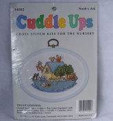 Cuddle Ups Cross Stitch Kit for the Nursery, Noah's Ark