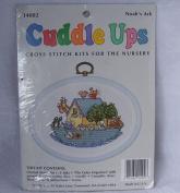Cuddle Ups Cross Stitch Kit for the Nursery, Noah's Ark