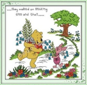 Happy Forever Cross Stitch, Cartoon characters, Winnie the pooh