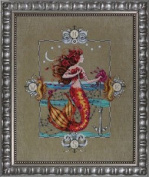 Mirabilia Gypsy Mermaid Md126 Counted Cross Stitch Pattern