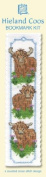 Three Highland Cows Bookmark Cross Stitch Kit