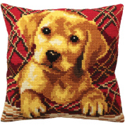 Collection D'art Brady Pillow Cross Stitch Kit 15 3/4'X15 3/4'
