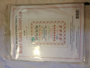 The Design Connexion's Baby Girl Sampler Counted Cross Stitch Kit