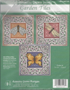 Jeanette Crews Presents Set of 3 Garden Tiles Counted Cross Stitch Kits