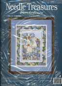 Needle Treasures Borderlines Counted Cross Stitch Kit - Ducks Amid Iris Designed by Anne Mortimer 03075