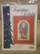 Sugarplum Delights Cowboy Sants Counted Cross Stitch Kit