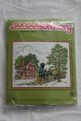 "Vintage 1979 Sunset Stitchery ""Country Depot "" Kit - Designed by Barbara Jennings"