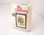 Vintage 1976 Sunset Designs Jiffy Stitchers - #354 Grape Ivy