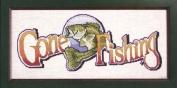 Gone Fishing Counted Cross Stitch Kit 5421