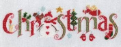 Nia Christmas Word Sampler Cross Stitch Kit