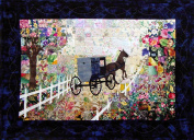 Whims Watercolour Quilt Kits Quilting Supplies, Buggy Ride