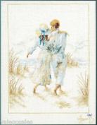 Lanarte Counted Cross Stitch Kit - Romance