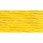 Maia NOM232967 Anchor Six Strand Embroidery Floss, 8.75 Yards, Canary Yellow Dark, 12 Per Pack