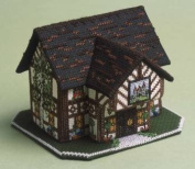 The Nutmeg Company The Castle Inn 3D Cross Stitch Kit