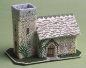 The Nutmeg Company The Church 3D Cross Stitch Kit