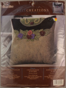 Pansy, Felt Decorative Pillow