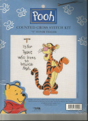 """""""T"""" is for Tigger Counted Cross Stitch Kit"""