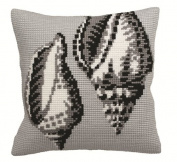 Collection D'art Bigorneau Pillow Cross Stitch Kit 15 3/4'X15 3/4'
