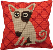 Collection D'art Droopy Pillow Cross Stitch Kit 15 3/4'X15 3/4'