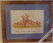 Beatrix Potter 'The Flopsy Bunnies' Counted Cross Stitch Kit