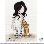 Bothy Threads Gorjuss I Love You Little Rabbit Cross Stitch Kit
