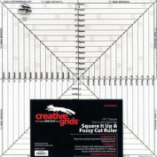 Creative Grids 37cm Square it Up & Fussy Cut Ruler