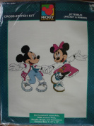 Jitterbug : Mickey & Minnie Mouse Counted Cross-Stitch Kit
