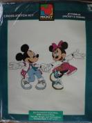 Jitterbug : Mickey & Minnie Mouse Counted Cross-Stitch Kit