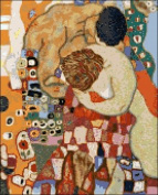 Death and Life By Klimt Counted Cross Stitch Kit