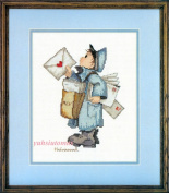 The Postman, - Hummel Cross Stitch Kit