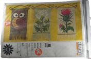OOE (O. Oehlenschläger)Owl Wall Hanging Embroidery Kit 30708