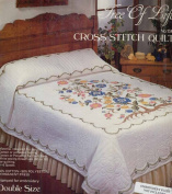 Tobin Stamped Cross Stitch Double Size Quilt-Tree