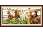 Happy Forever Cross Stitch, Animals, Running horse