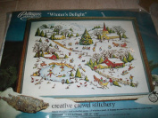 Winter's Delight Paragon Needle Craft/design By Adele Veres - #0413 - New Vintage 1976