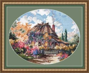 Pegasus Originals Cottontail Lodge by Marty Bell Counted Cross Stitch Kit