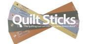 Quiltsticks Starter Kit - quilt stick sticks quiltstick Rotary Cut fabric safe efficient 7 templates ruler guide