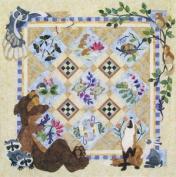 Java House Forest Galorest BOM Animal Quilt 6 Pattern Set