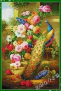 Happy Forever Cross Stitch, Animals,The peacock, glory 2