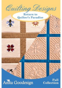 Anita Goodesign Designs Cd Return to Quilters Paradise