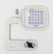 New Janome Free-arm Hoop C for Janome Memory Craft 300e/350e/9500/9700 1000, 10001 Bernina Deco 330/340 Elna 8200, 8300 & 8600 Embroidery Machine from ThreadNanny