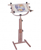 FA Edmunds 23cm x 60cm Scroll Frame with Rotating & Adjustable Height